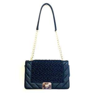 Karl Lagerfeld Lara Quilted Leather Shoulder Bag